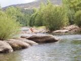 Zauberhafte Stelle am Fluss