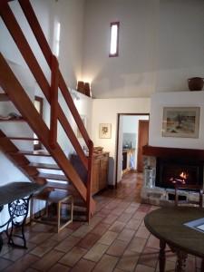 Blick vom Wohnraum Richtung Küche
